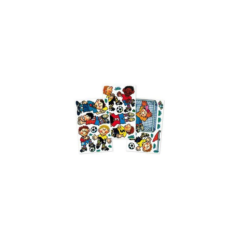 wand sticker fussball lutz mauder 79006 tolles f r kinder 12 99. Black Bedroom Furniture Sets. Home Design Ideas