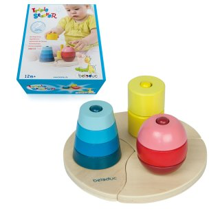 Triple Stacker - beleduc small kids - 18001