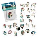 Mini-Tattoo-Set Einhorn Lunabelle 24-tlg., Lutz Mauder 47318