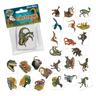 TapirElla Mini-Tattoo-Set Dinosaurier 24-tlg., Lutz Mauder 47319