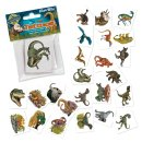 TapirElla Mini-Tattoo-Set Dinosaurier 24-tlg., Lutz...