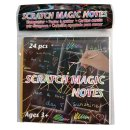 Magic Paper Kratzpapier 24 Blatt inkl. Stift - Kratzblatt...