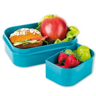 Maxi-Kinder Brotdose / Lunchbox Hawaii Flowers, Lutz Mauder 10903
